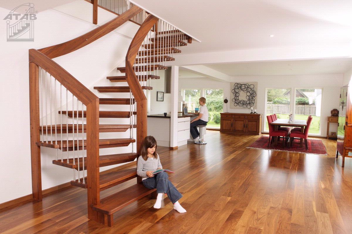 Nos Escaliers En Bois Massif Tr 232 S Haute Qualit 233 Et 100
