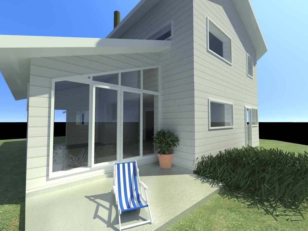 Votre maison d 39 architecte en ossature bois basse for Architecte region parisienne