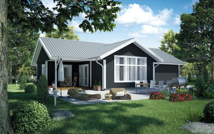 trubaduren gamme de maisons plain pied extraite de votre catalogue de maisons ossature bois. Black Bedroom Furniture Sets. Home Design Ideas
