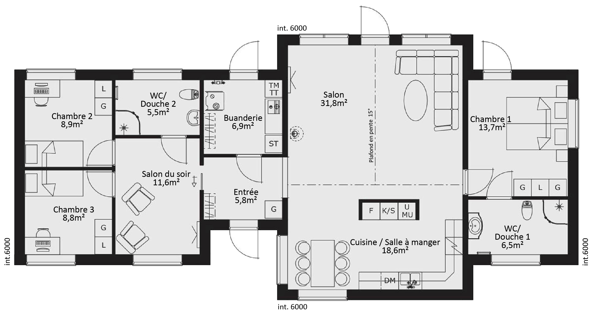 plan de maison en bois gratuit. gallery of dessiner un plan sur ... - Plan De Maison En Bois Plein Pied Gratuit
