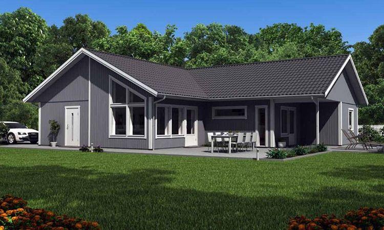 Karisma gamme de maisons plain pied de votre catalogue for Maisons scandinaves en bois