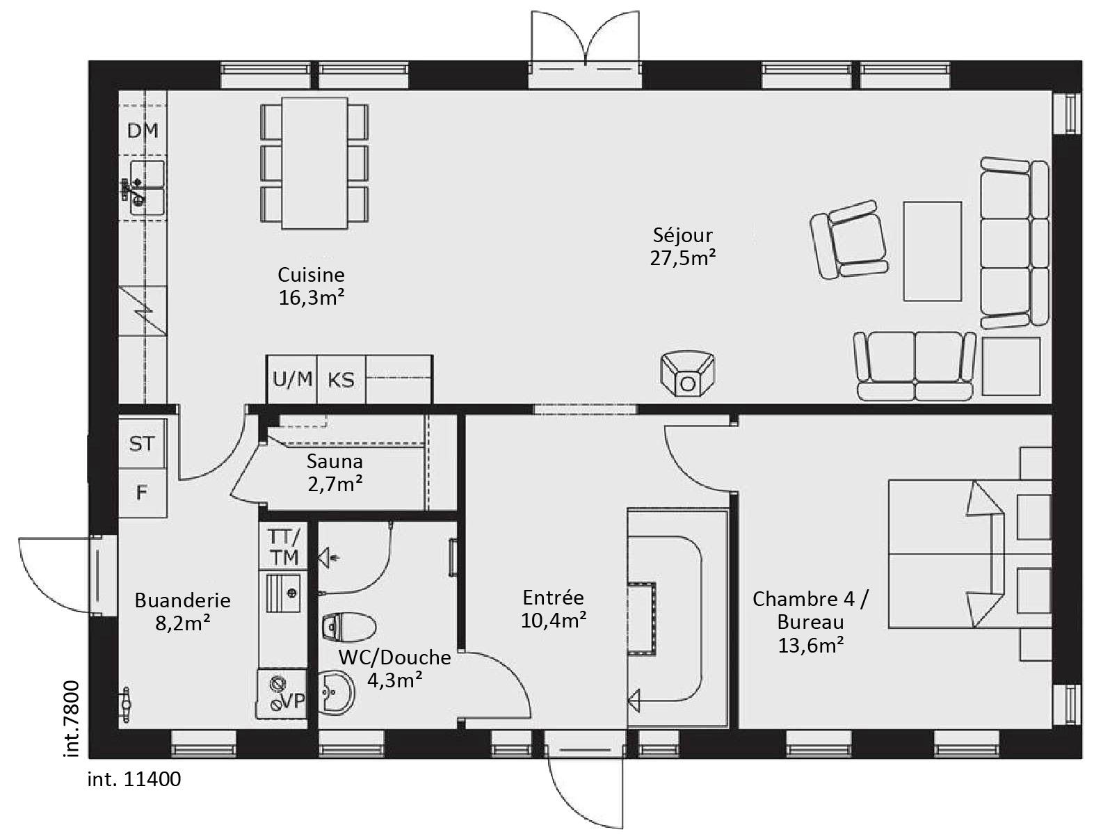 catalogue plain pied scandinavia 7. Black Bedroom Furniture Sets. Home Design Ideas