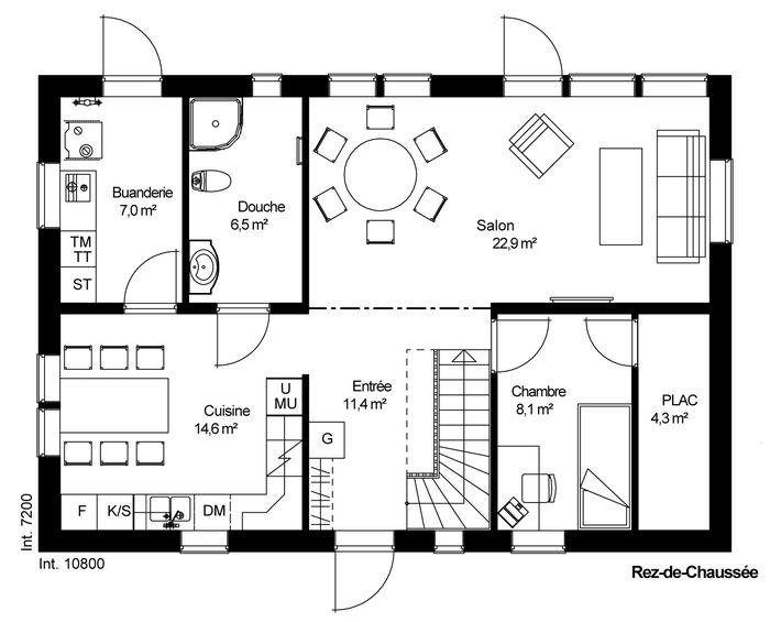 catalogue combles am nag s fladen. Black Bedroom Furniture Sets. Home Design Ideas