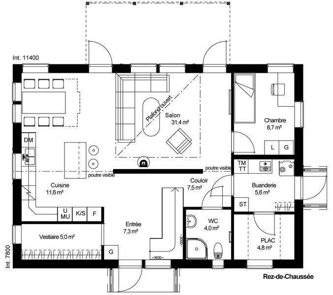 Catalogue 1 Tage Garpen 162 Maiso. Home U203a Construire Online Com Plan De  Maison ...